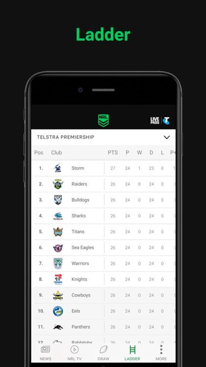 NRL Official App screenshot-3