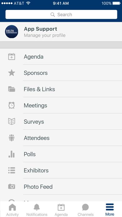 Delta Conferences screenshot 2