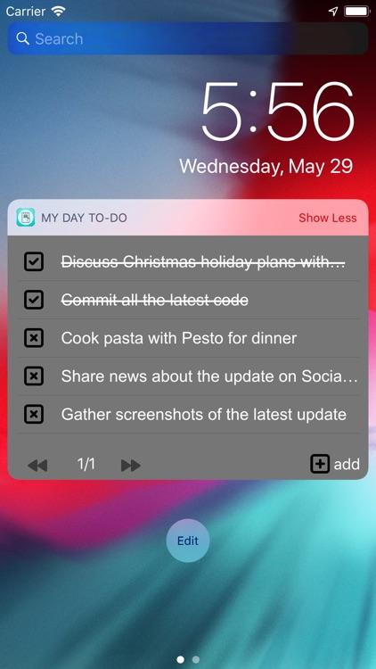 My Day To-Do - Smart Task List screenshot-7