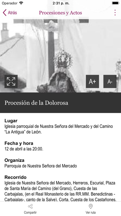 Semana Santa León screenshot-3