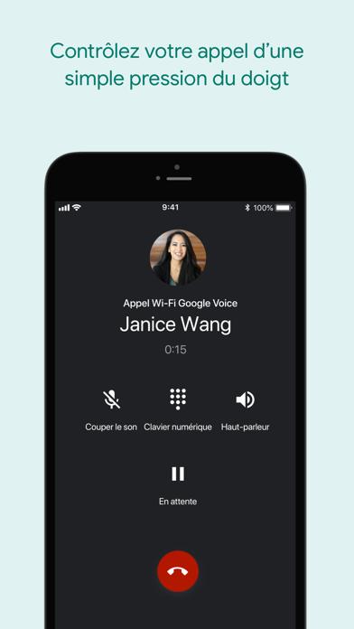 Screenshot #2 pour Google Voice