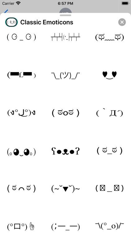 Classic Emoticons