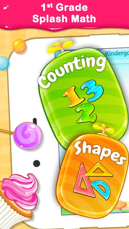 1st Grade Math Learning Games