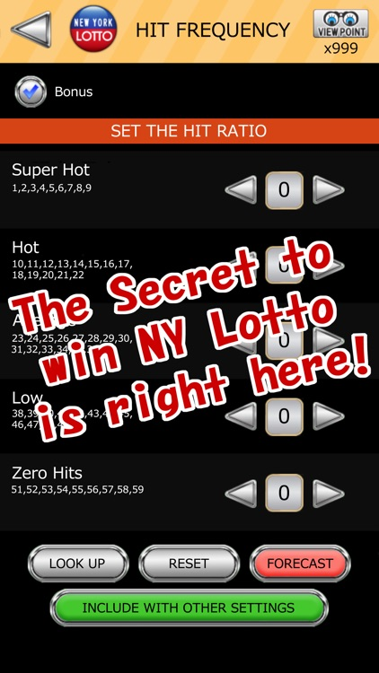 NY LOTTO SCIENTIFIC FORECAST screenshot-5