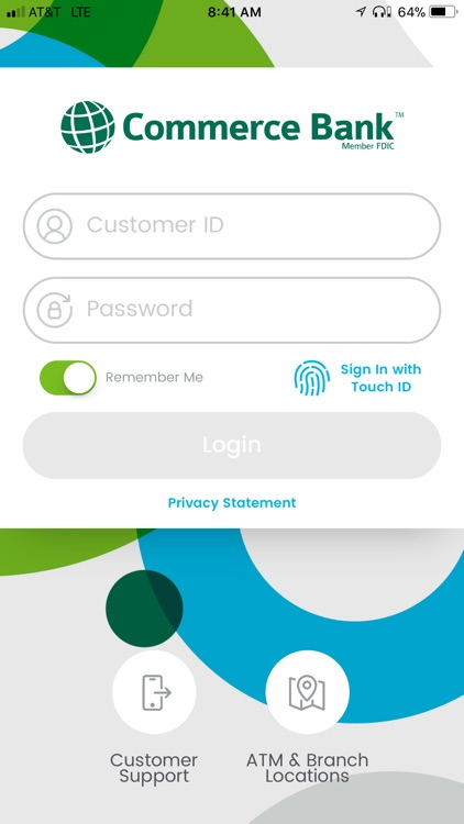 Commerce Bank for iPhone