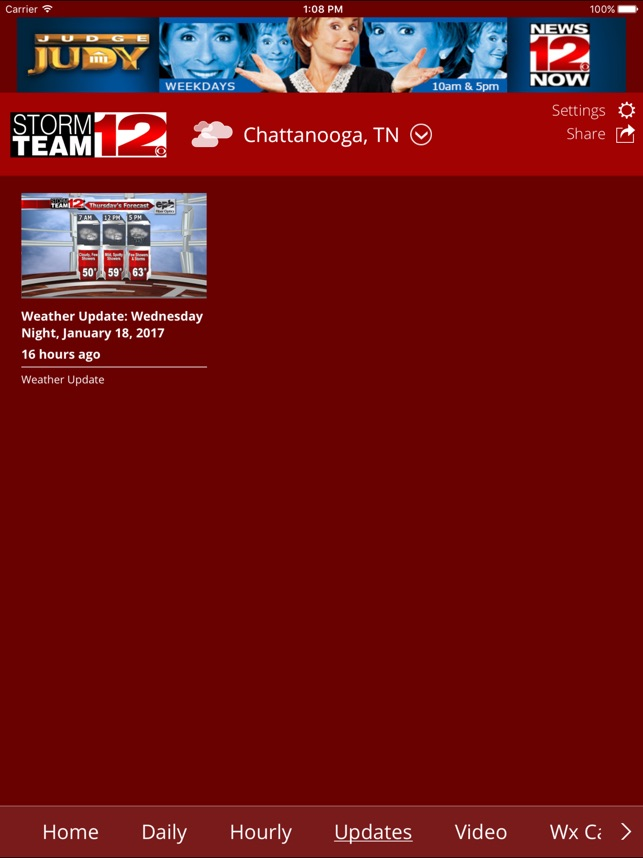 WDEF Storm Team 12 Weather on the App Store