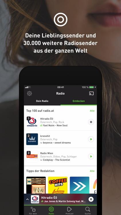 radio.at - Podcast und Radio