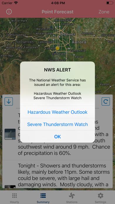 Wind Speed Forecast App screenshot 5