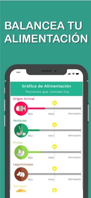 App dieta balanceada