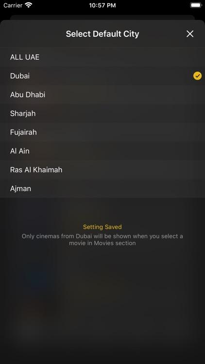 UAE Cinema Showtimes screenshot-6