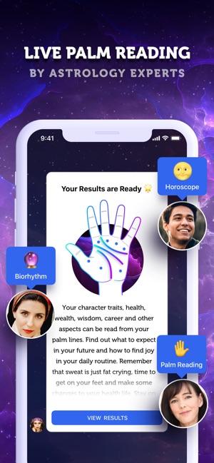 LIVE Palmistry & Horoscope on the App Store