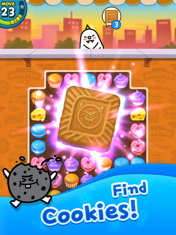 Match 3 Puzzle: SweetMonsterのおすすめ画像4