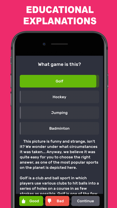 Questions & Answers: QuizzLand screenshot four