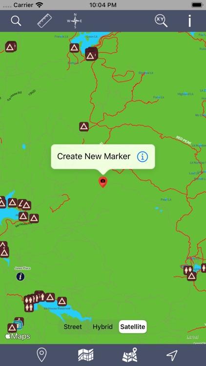 Eldorado National Forest – GPS screenshot-5