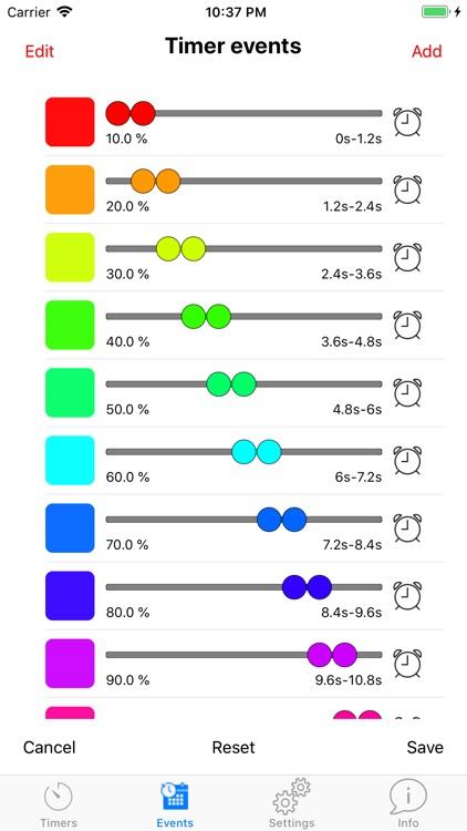 Colored Timer Pro screenshot-9