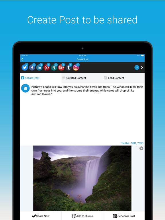 SocialPilot screenshot