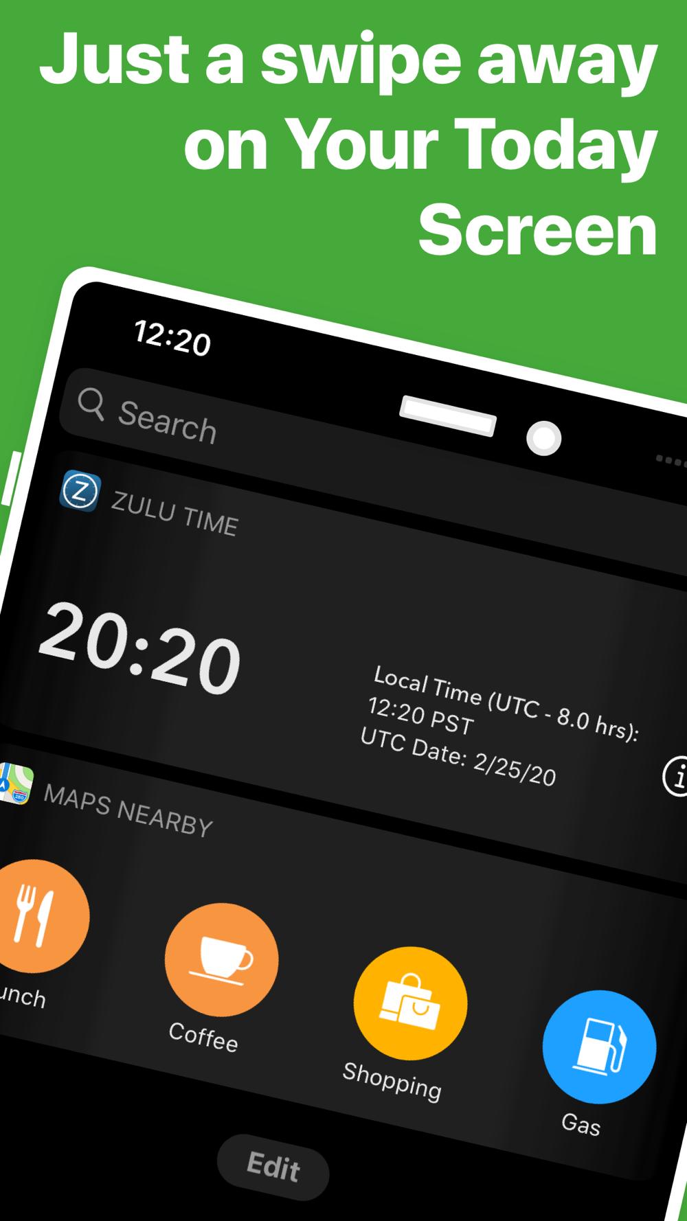 Utc (zulu) time conversion chart