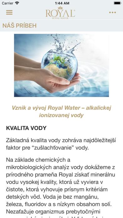 Royal Water SK screenshot 2