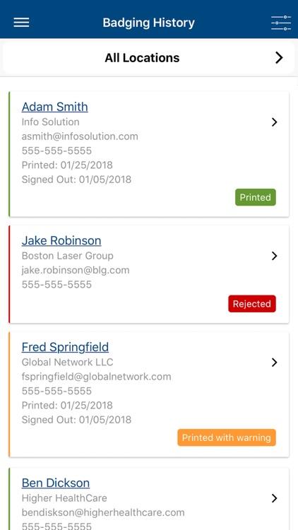 Vendormate Credentialing screenshot-3