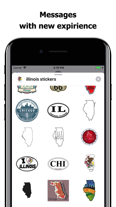 Illinois emojis - USA stickers screenshot 3