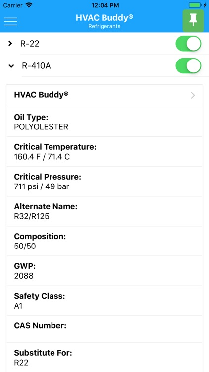 HVAC Buddy® Press Temp screenshot-3