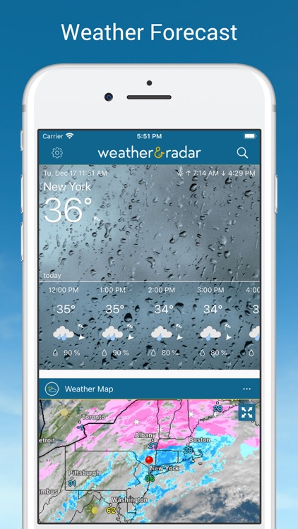 Weather & Radar USA screenshot-0
