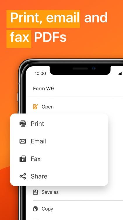 PDFfiller: Edit and eSign PDFs screenshot-4