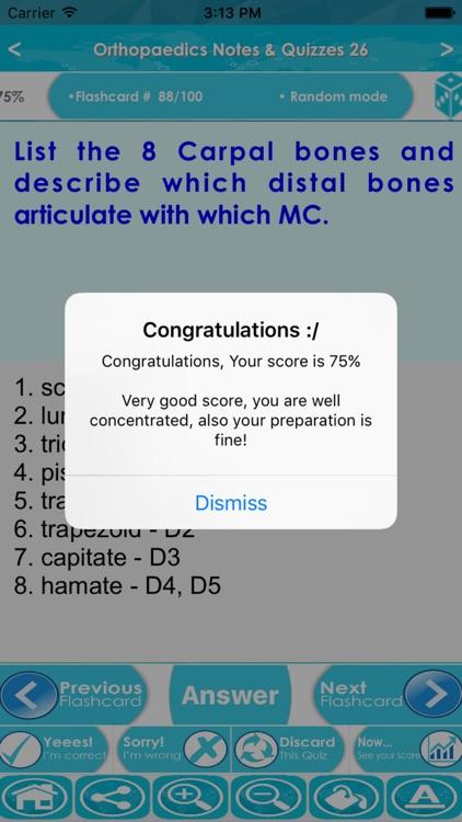 Orthopaedics Exam Review : Q&A screenshot-4
