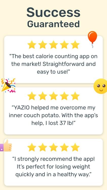 YAZIO — Diet & Food Tracker screenshot-6