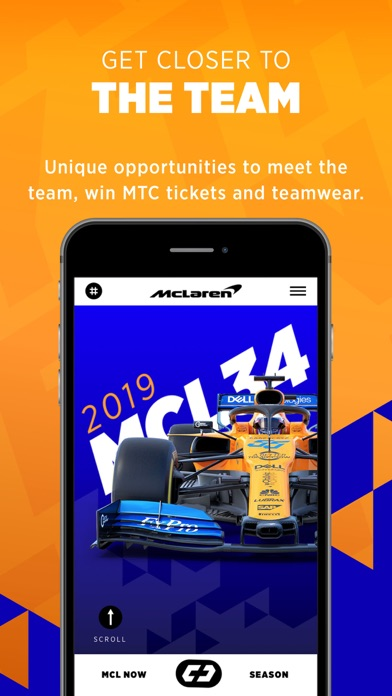 McLaren Racing screenshot four