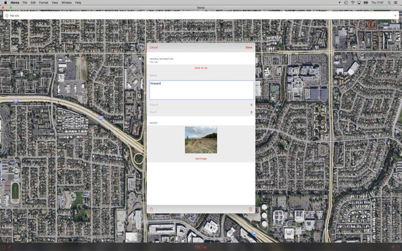 Marea - Map Area Calculator for Mac