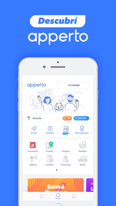 Screenshot for Apperto in Israel App Store