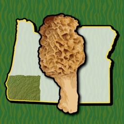Oregon SW Mushroom Forager Map