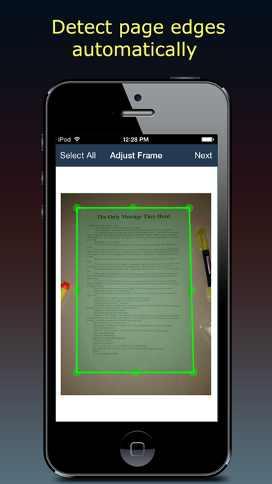 Screenshot #2 pour Fast Scanner : PDF Doc Scan
