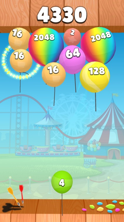 2048 Balloons 3D screenshot-3
