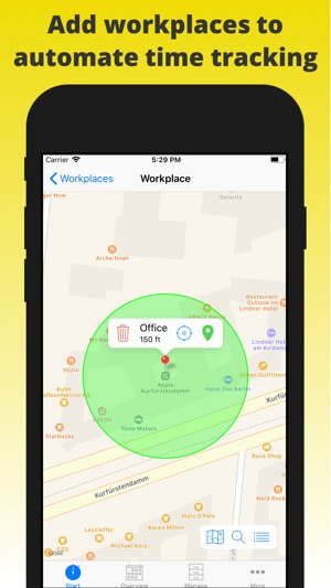 atwork timesheet time tracker on the app store