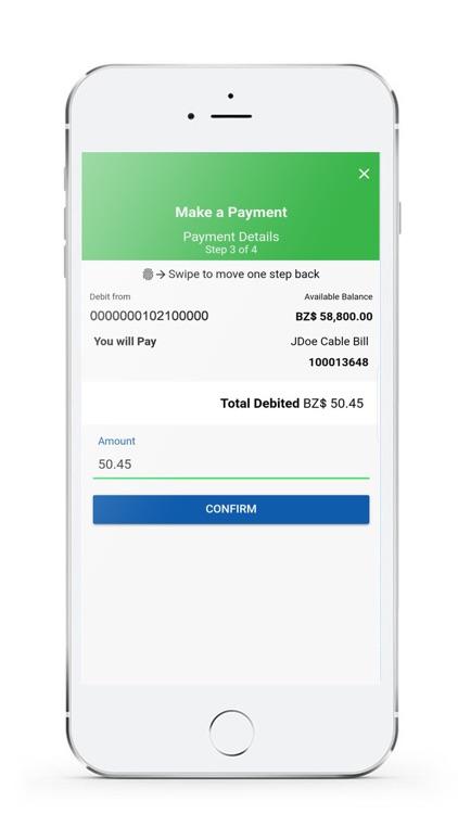Belize Bank Mobile Banking screenshot-5