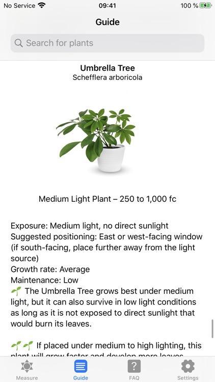 Plant Light Meter screenshot-6