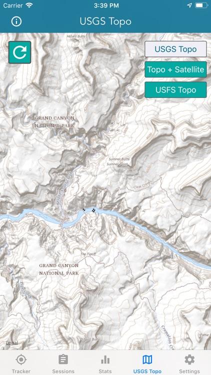Topo Map & Hiking Tracker screenshot-7