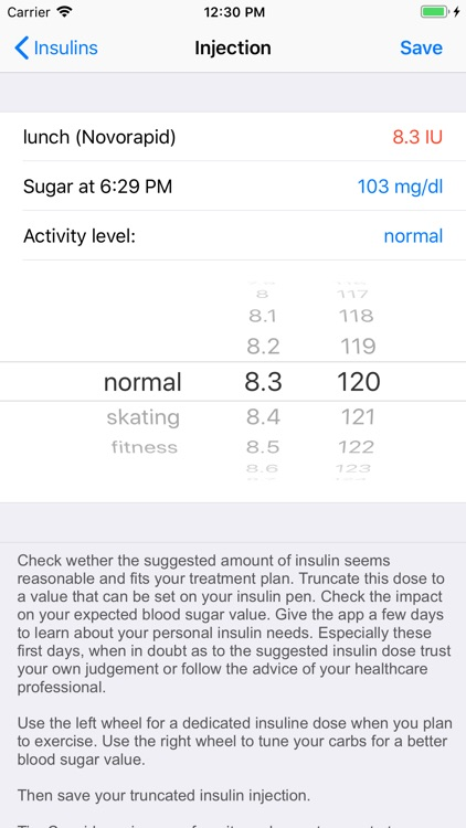 SugarPal Diabetes Manager screenshot-4