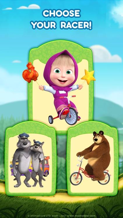 Masha and the Bear: Car Games