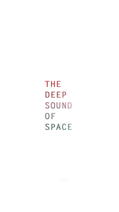 Screenshot for The Deep Sound of Space in Ukraine App Store