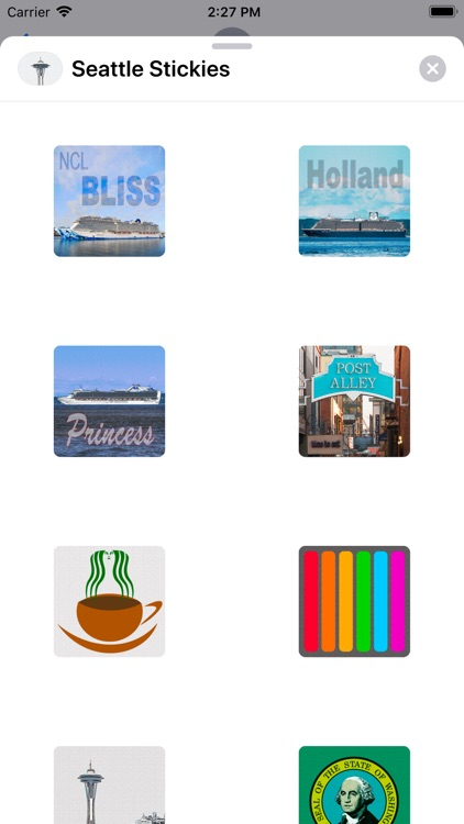 Seattle Stickies for iMessage screenshot-0
