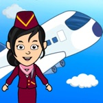 My Tizi Town – Airplane Games
