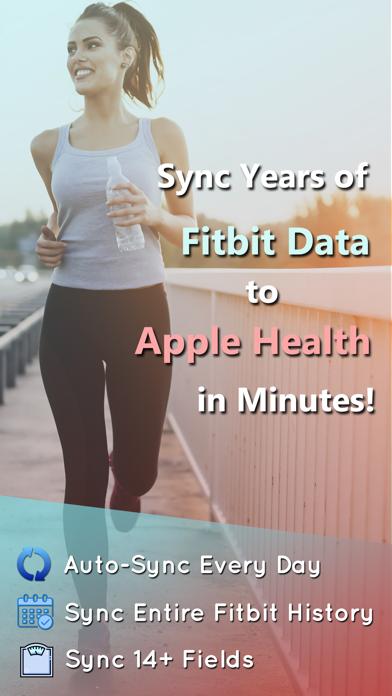 Fitbit to Apple Health Syncのおすすめ画像1