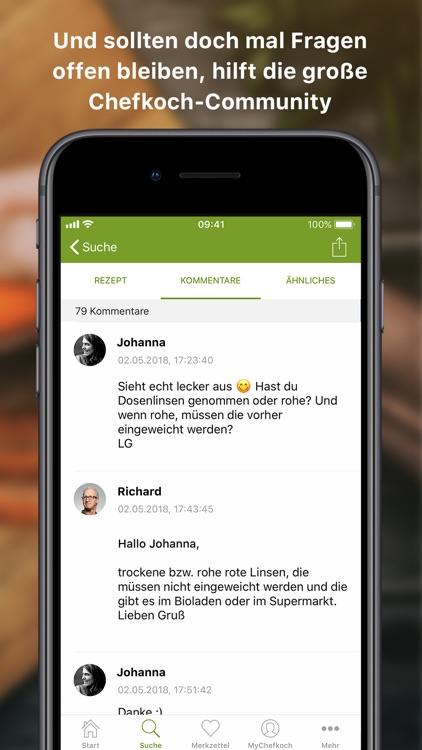 Chefkoch – Rezepte & Kochbuch screenshot-4