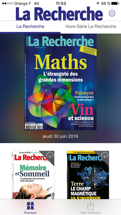 messages.download La Recherche Magazine software