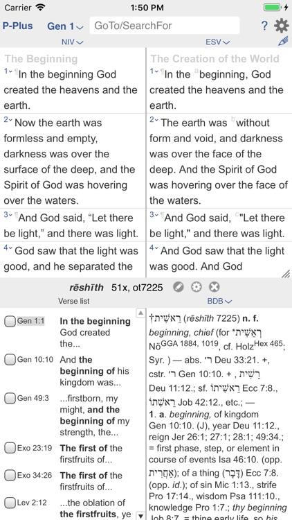 PARALLEL PLUS Bible-study app screenshot-7