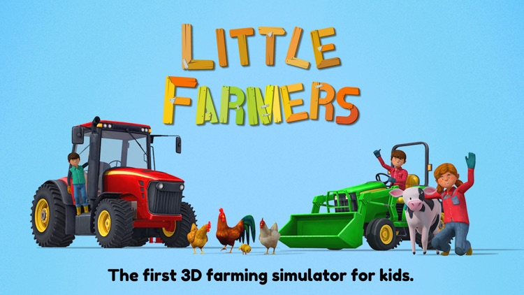 Little Farmers for Kids screenshot-0