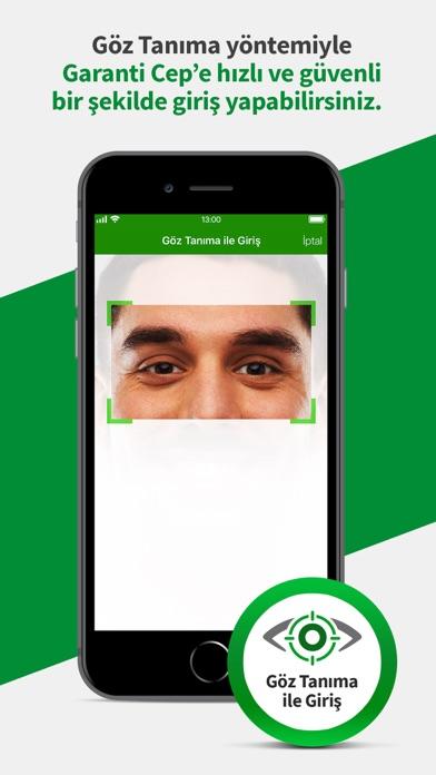 Screenshot for Garanti Cep in Turkey App Store
